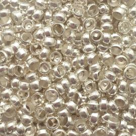 Knijpkraaltjes zilver - 3mm