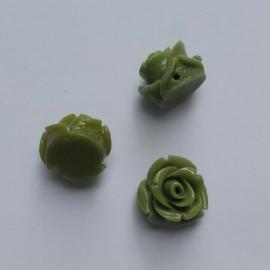 Roosje soft olive - ca. 11mm