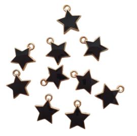 Bedel ster goud/zwart