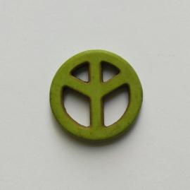 Peace kraal olijfgroen - 25mm