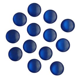 Resin cabochon cateye koningsblauw