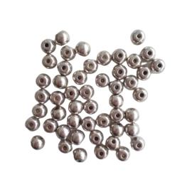 Metalen kraal -  ca. 6mm