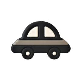 Siliconen kraal auto zwart