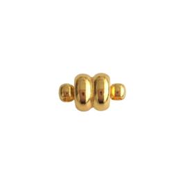 Magneetslotje goud