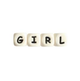 Siliconen tekst GIRL