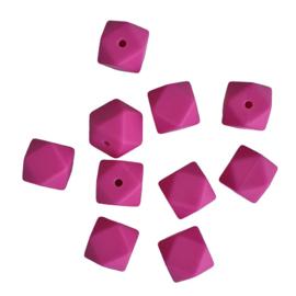Siliconen kralen hexagon