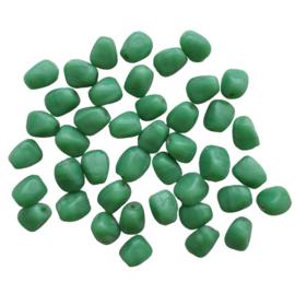 Glaskraal steentje groen