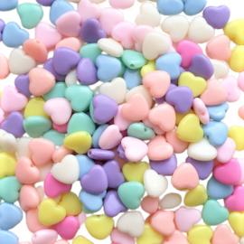Acryl hartenmix pastel