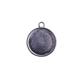 Setting / hanger zilver voor cabochon van 16mm