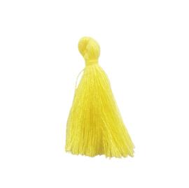 Kwastje licht geel - ca. 27mm