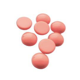 Polaris cabochon coral pink - 12mm