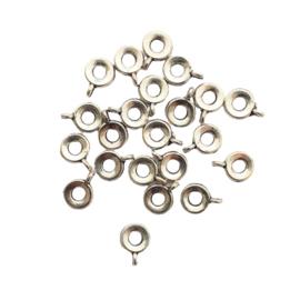 Metalen ring met oogje
