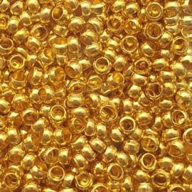 Knijpkraaltjes goud - 3mm