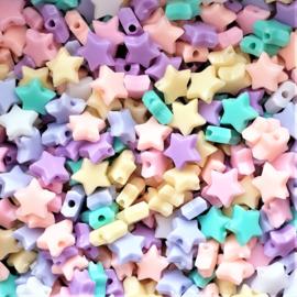 Acryl sterrenmix pastel