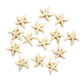 Keramiek zeester beige