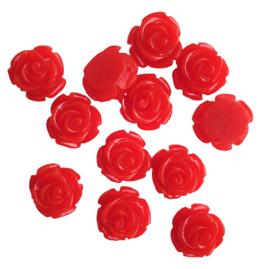 Acryl roos rood