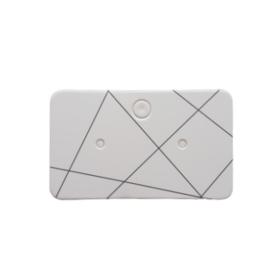 Oorbellenkaartje geometrisch patroon