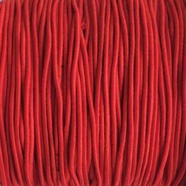 Elastiek  rood - 1mm