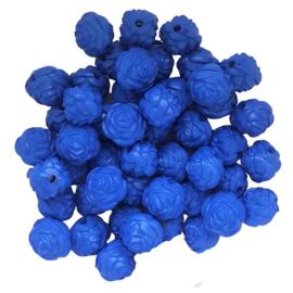 Roosje rond blauw
