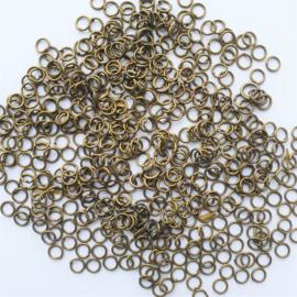 Buigringetjes brons 10 stuks - 5mm