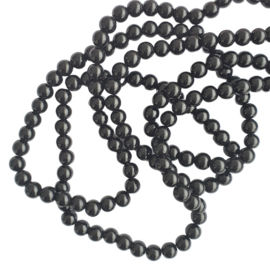 Glaskraal opaque zwart