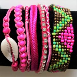 Armband Ibiza Pink