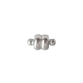 Magneetslotje zilver