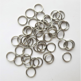 Buigringetjes stainless steel  - 8mm
