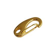 Metalen clipsluiting goud - ca. 20mm