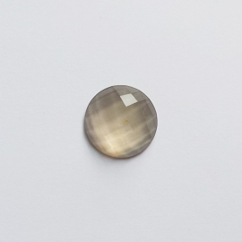 Cabochon smokey - 15mm