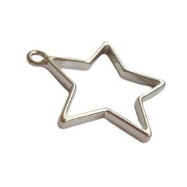 Hanger ster antiek-zilver