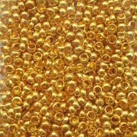 Knijpkraaltjes goud - 2.5mm