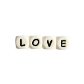 Siliconen tekst LOVE