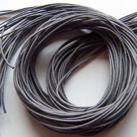 Waxdraad grijs - 1mm