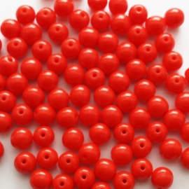 Basis glaskraaltje brandweerrood - 6mm