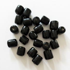 Buiskraaltje zwart - ca. 6x9mm