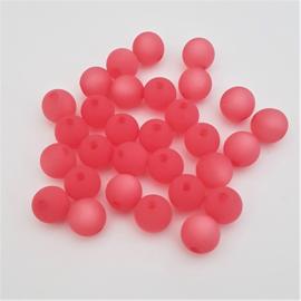 Polaris kraal mat rond soft rose pink - 8mm