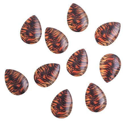 Cabochon tijgerprint