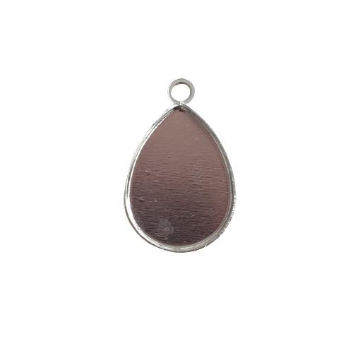 Hanger druppel antiek-zilver