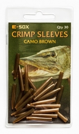 E-Sox Crimp Sleeves Camo Brown