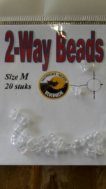 Midnight Moon 2 way beads