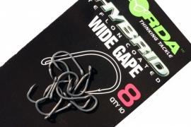 Korda Wide Gape Micro Barbed normaal de X en de XX uitvoering en Barbless