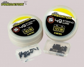 Fox Rage Predator 49 Strand Steel Wire