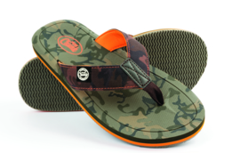 Fox Chunk Camo SLippers