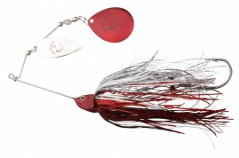 Savage Gear Da´Bush Spinnerbait Red Silver Flash #4