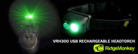 RidgeMonkey VRH150 Hoofdlamp (Headtorch)