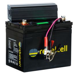 Rebelcell HS Ultimate Pakket (12V-50Ah Accu met 16.8V-8Ah Lader