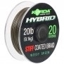Korda Hybrid Stiff Coated Braid 20LB 20M