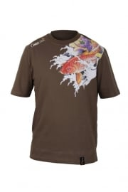 Prologic Koi Carp Tattoo Tee New Green