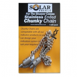 Solar Stainless Ended Chunky Chain